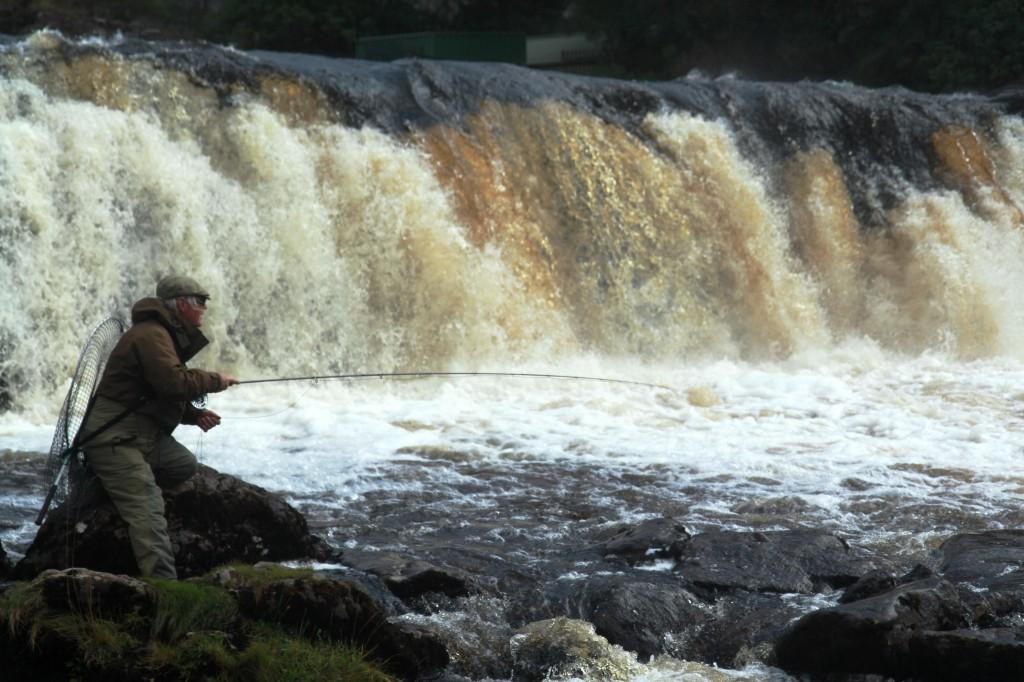 Aasleagh Falls, Erriff River