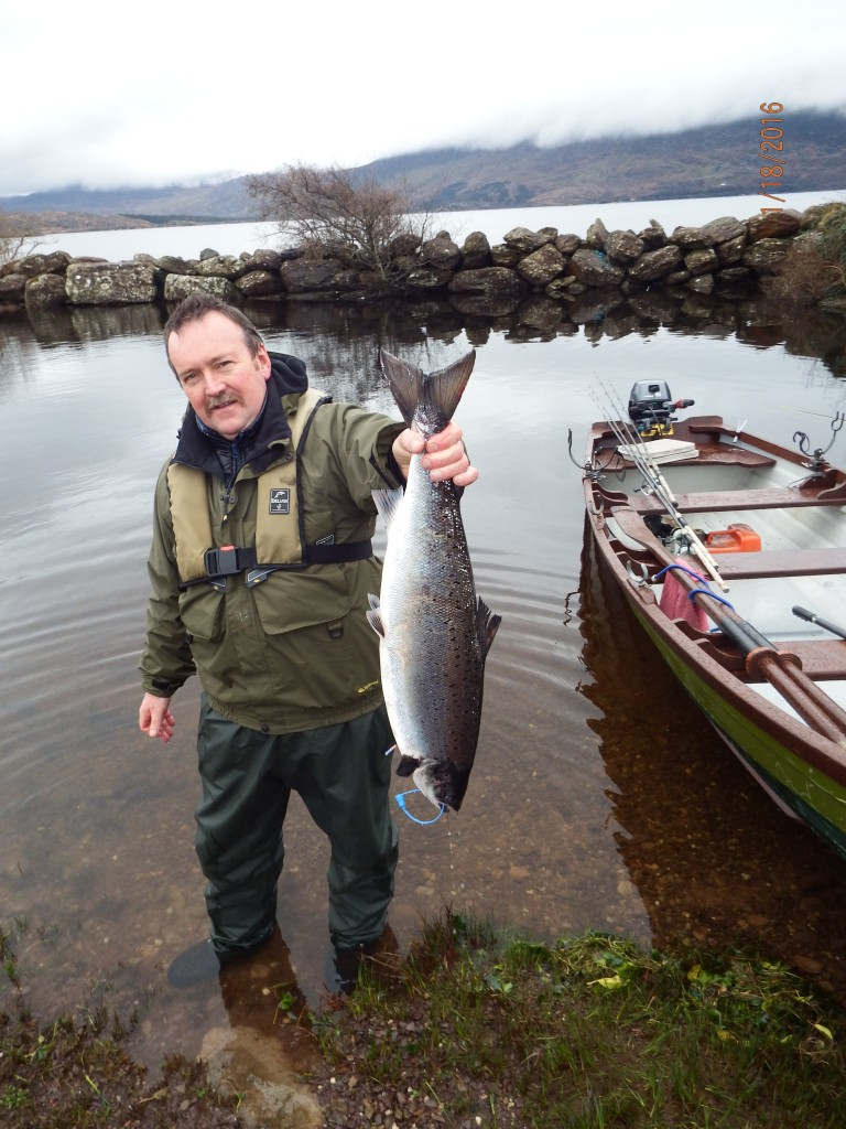First salmon caught in Ireland 2016 by Neil 007