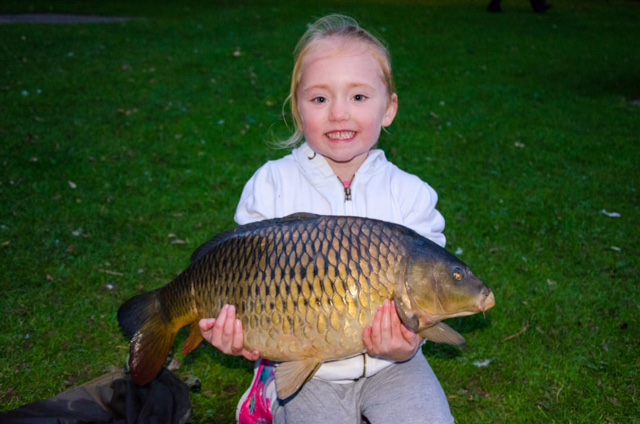 Amy with her Catch of the Week carp