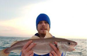 La Whiting di Izaac reclama lo specimen: 60 centimetri!