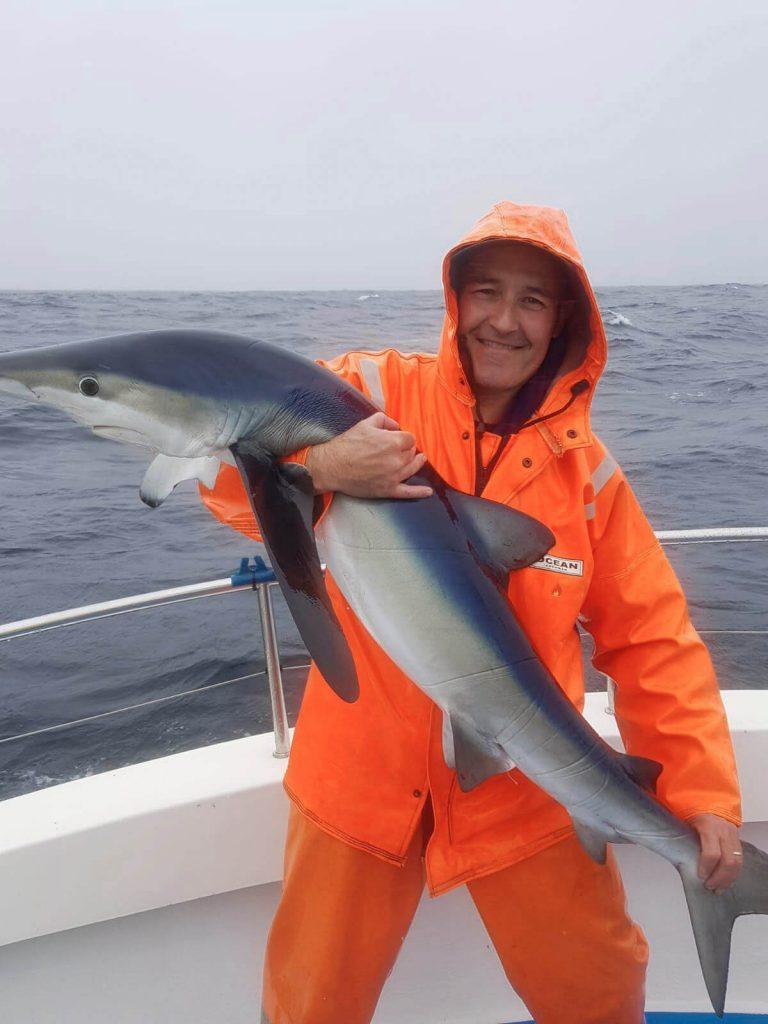 Brian Clarke con un blue sui 25 kg
