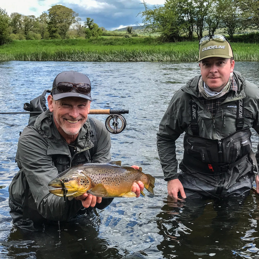 Leif Stävmo e Kevin Shone (Guide) sul Suir