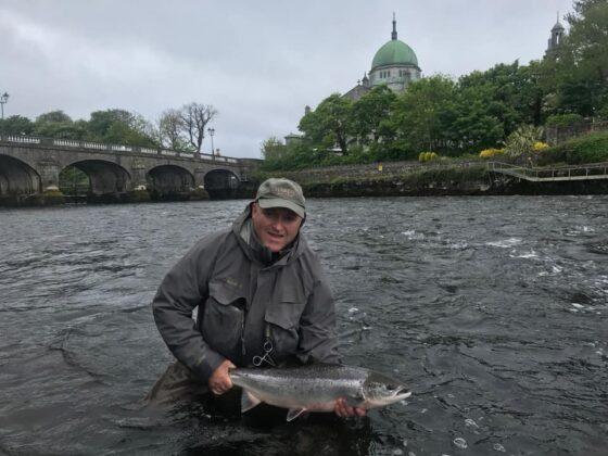 Eamon Power nella Galway Weir