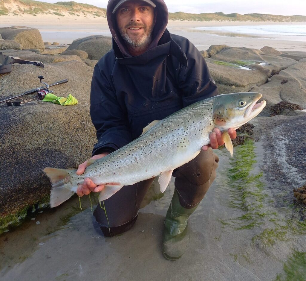 Johnny Byrne. Catch Photo Release #CPRSavesFish